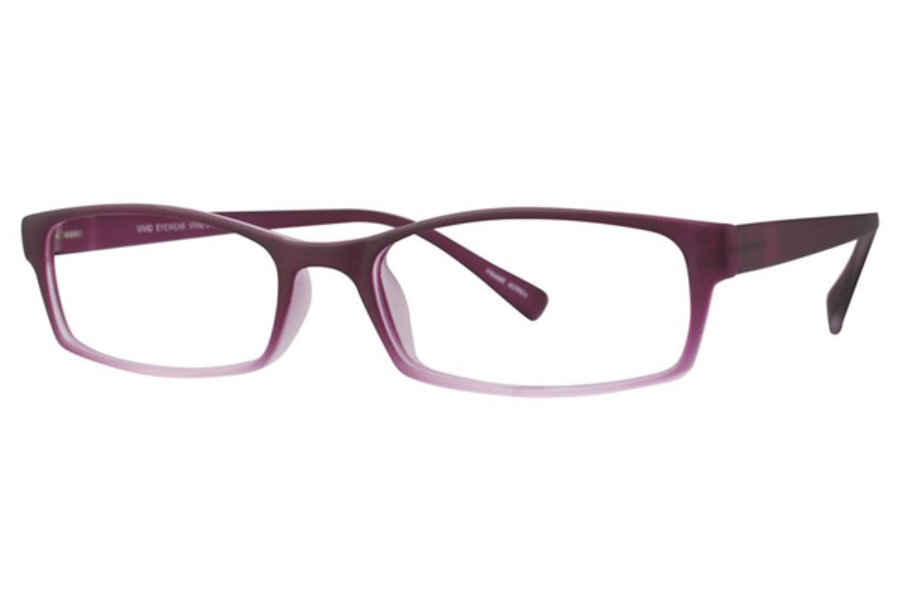 Vivid TR90 218 Eyeglasses in Wine Gradient